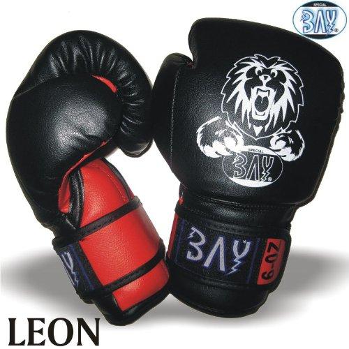 LEON Kinder Boxhandschuhe 4 6 8 10 Unzen