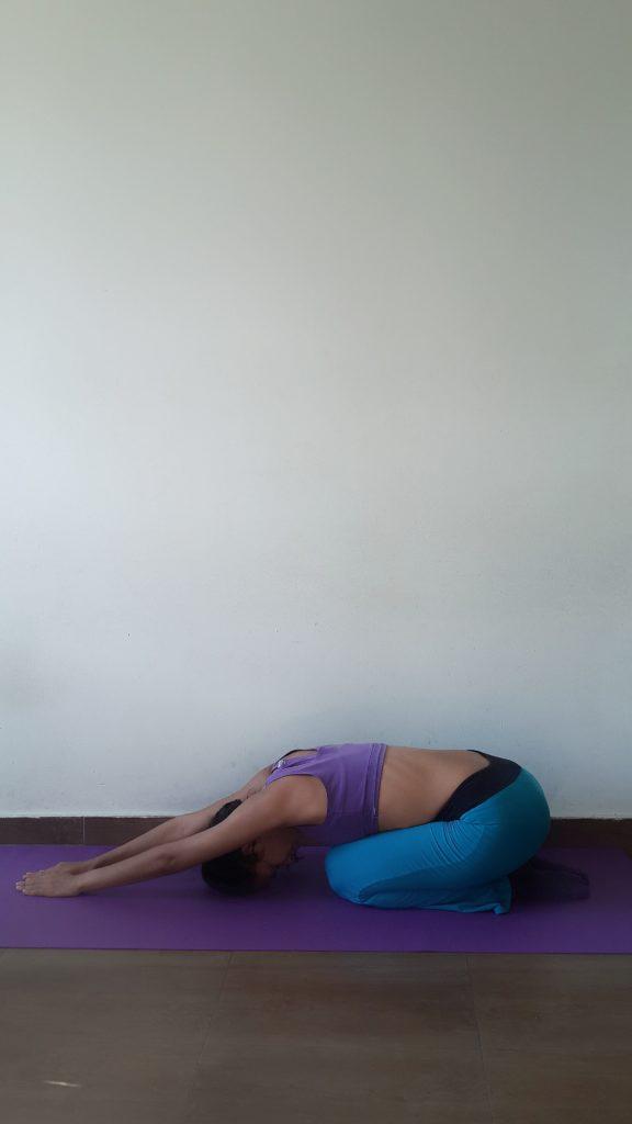 Das Kind Yoga Übung
