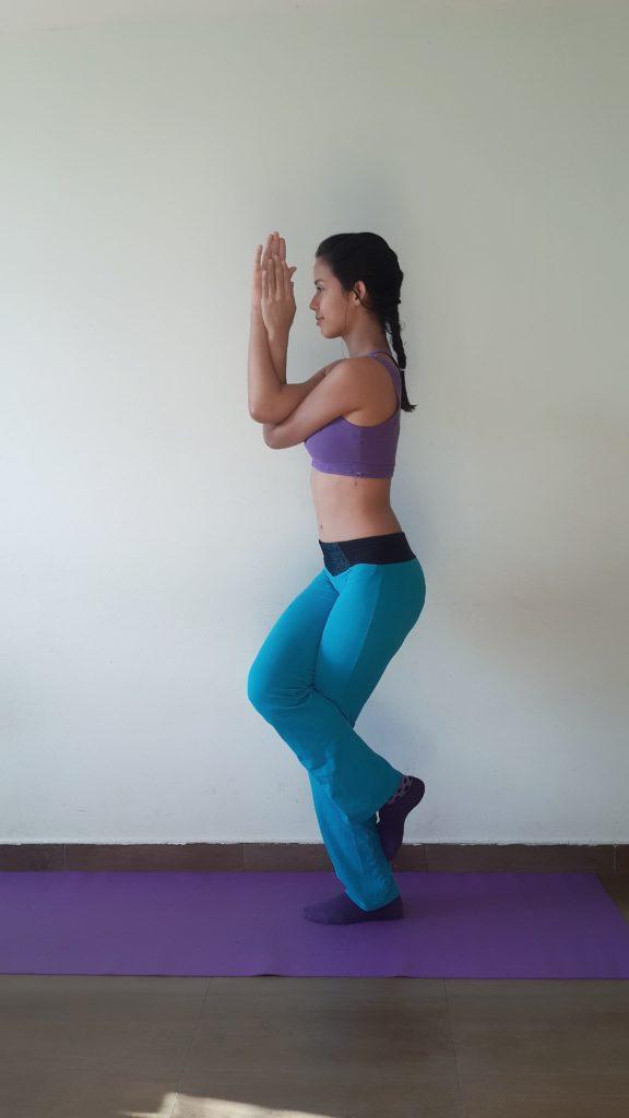 Der Igel Figur Yoga Übung