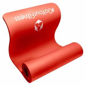 Pilatesmatte Farbe Rot ohne Schadstoffe und Schwermetallfrei