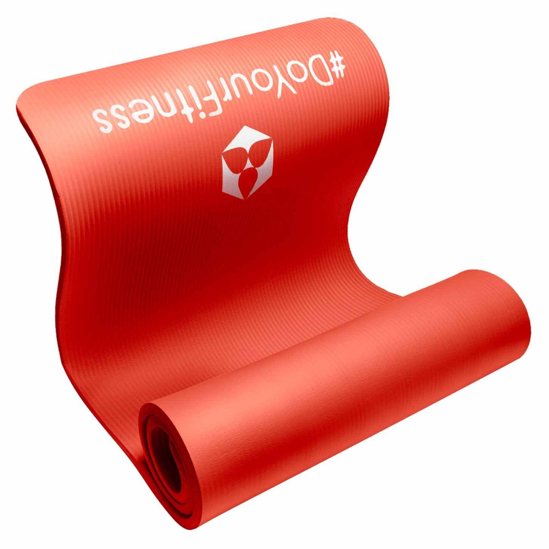 pilatesmatte farbe rot ohne schadstoffe und schwermetallfrei megaboxsack. Black Bedroom Furniture Sets. Home Design Ideas